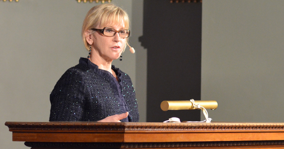 Margot Wallström gives her speech on Conflict-related sexual violence: Another kind of war