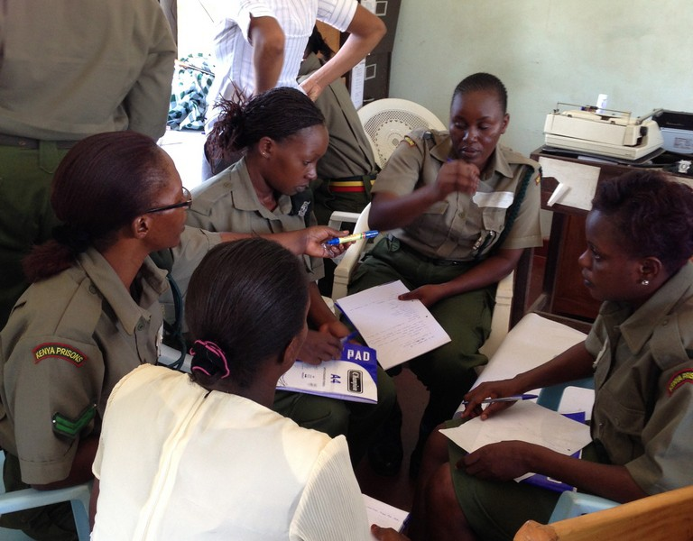 2013 saw the partnership between the Institute and the Kenya Prisons Service (KPS) further develop its