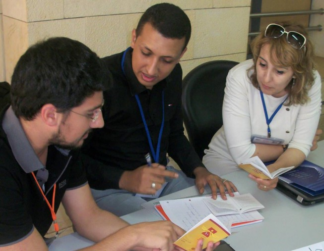 Above: Regional Human Rights Summer Course - Beirut Arab University – Human Rights Center, August 2014