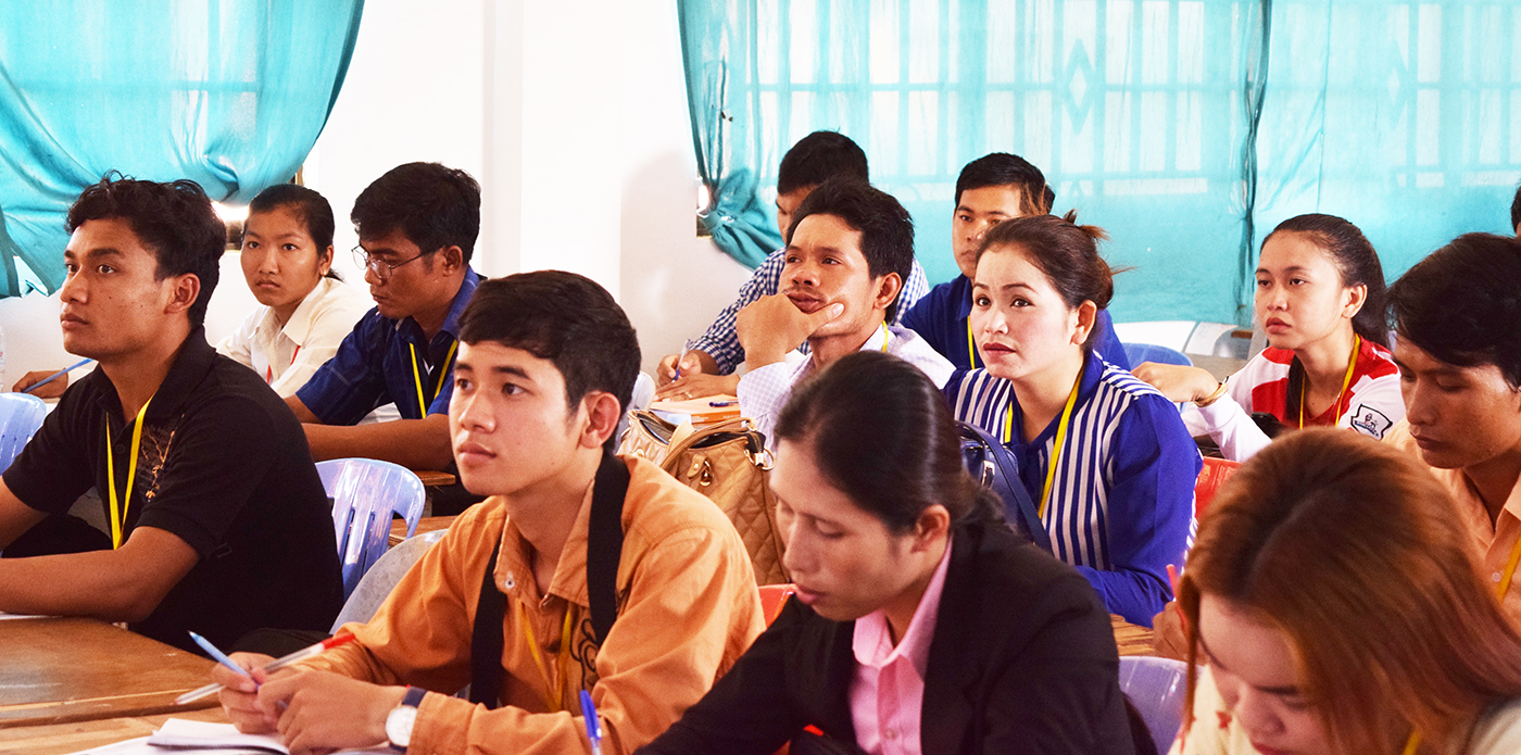 Human Rights at Battambang University in Cambodia