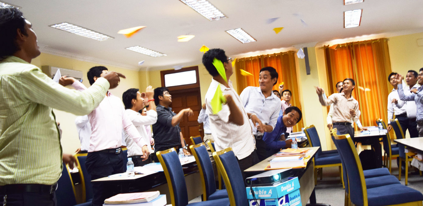 Teaching human rights to Cambodian court clerks