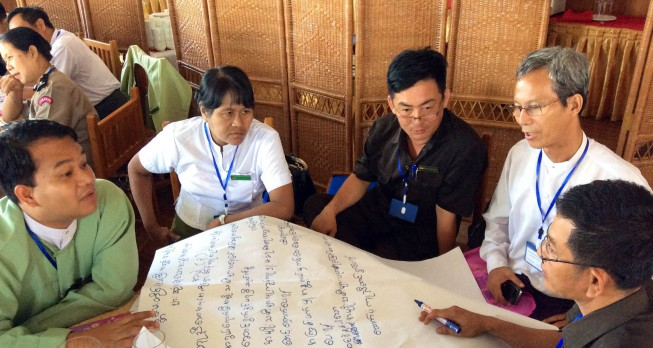 Myanmar National Human Rights Commission outreach