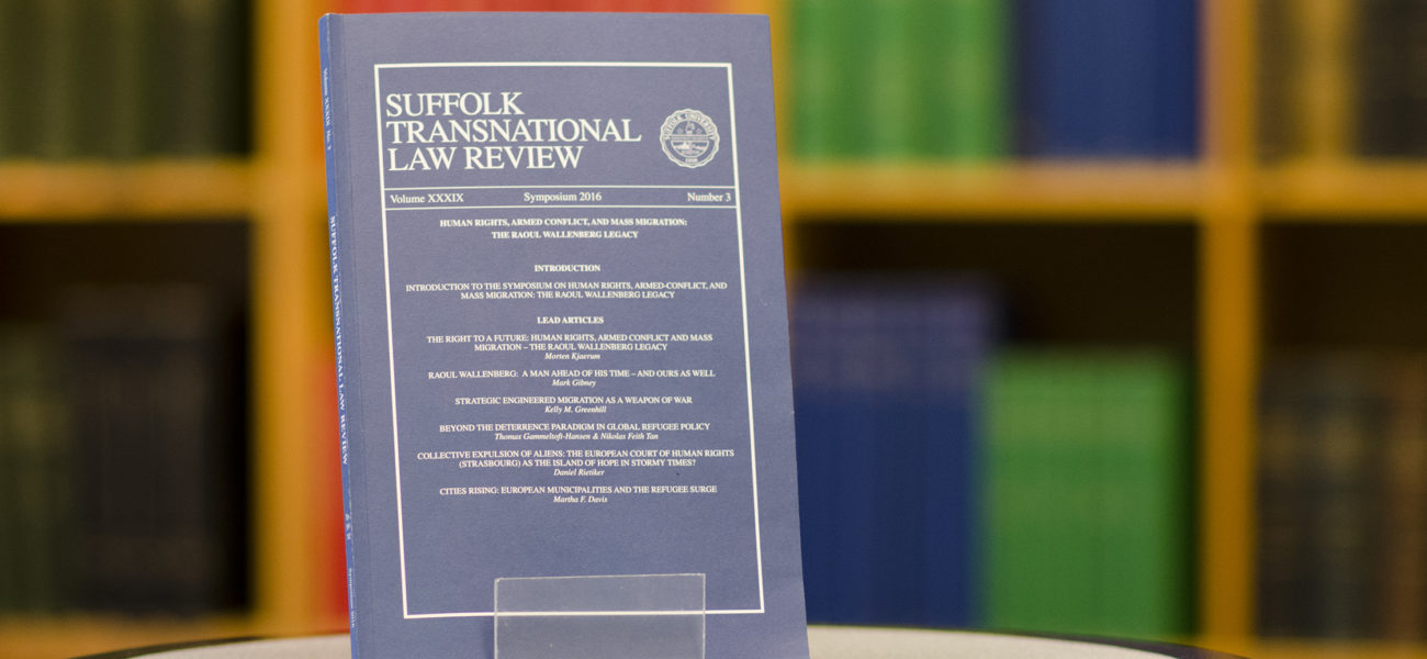 Transnationallawreview