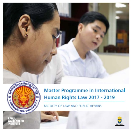 Master in International Human Rights Law