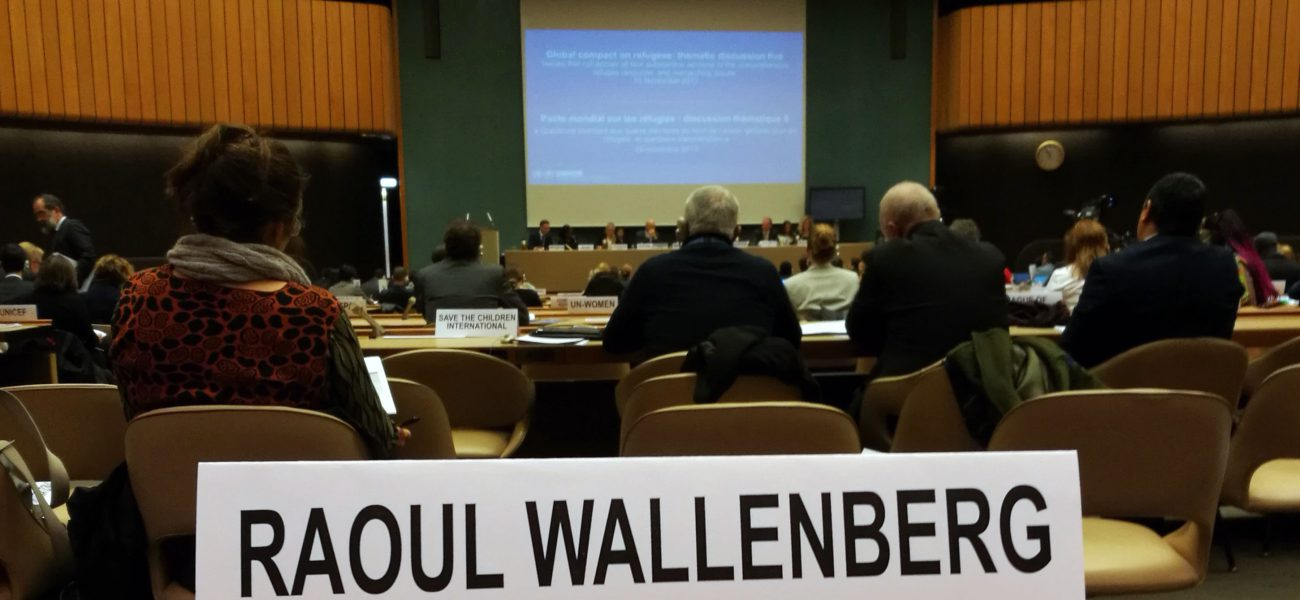 High Level Dialogues On Un Agreement On Refugees Taking Place In