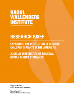 Migrant Children's rights research brief