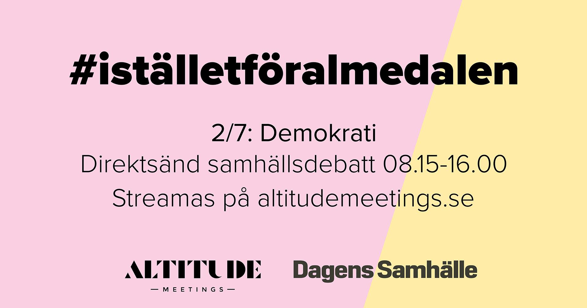 picture for #iställetföralmedalen