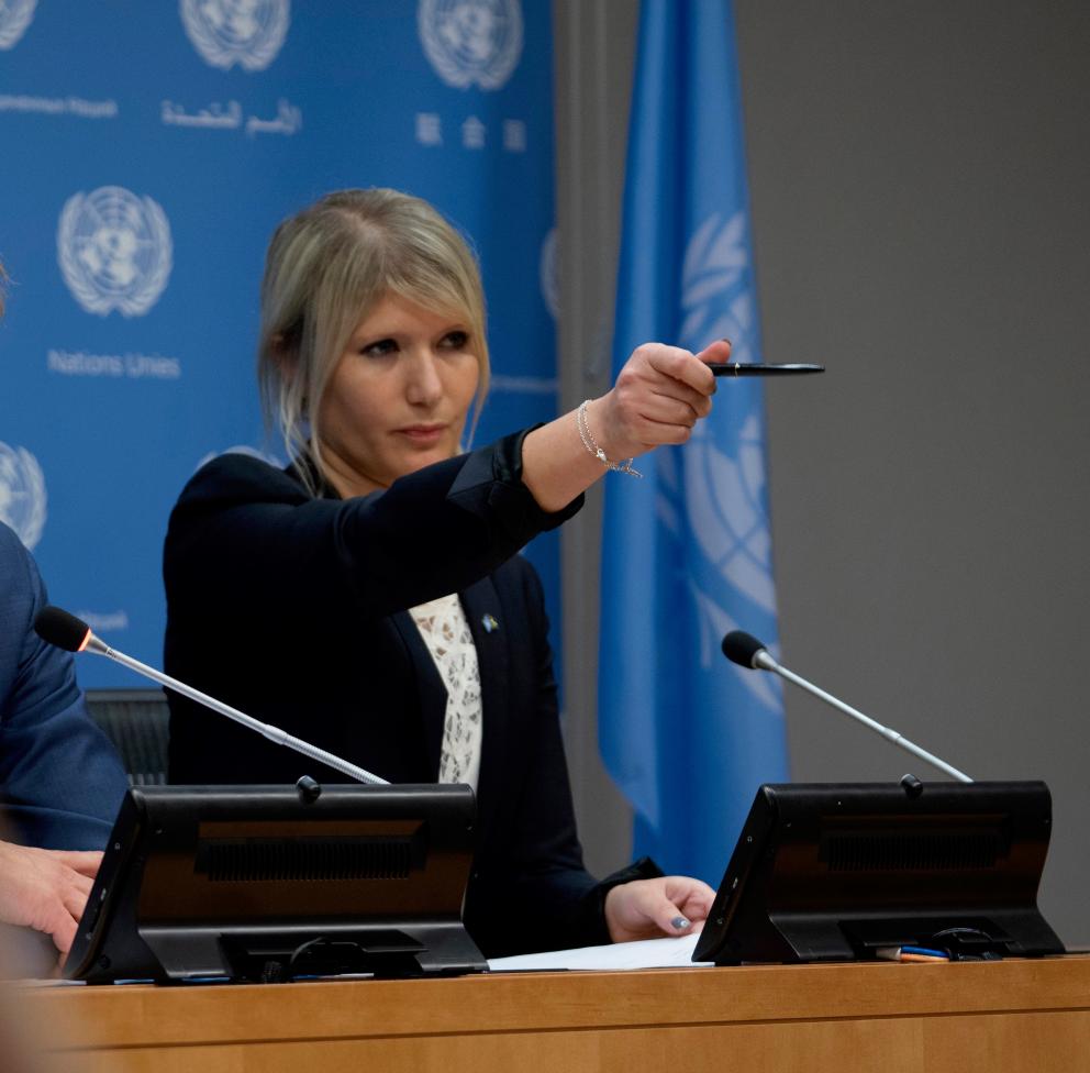 Lisa Laskaridis, UN75