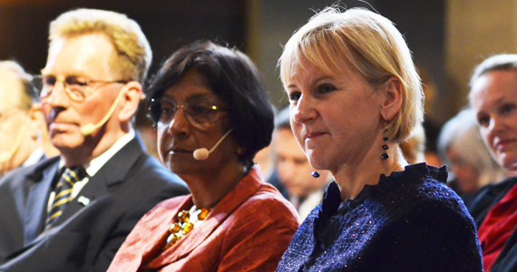 Margot Wallström and Navi Pillay