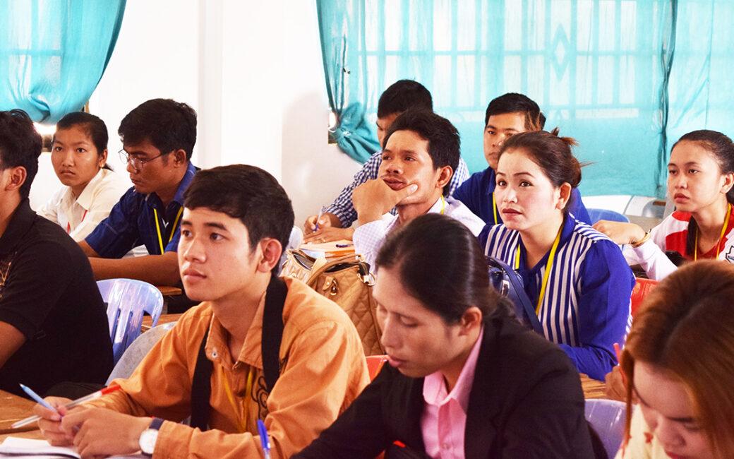 Human Rights at Battambang University in Cambodia