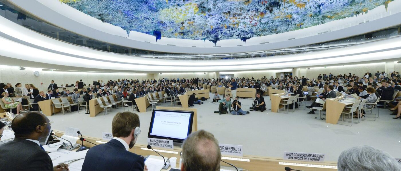Human Rights Council - 27th Session