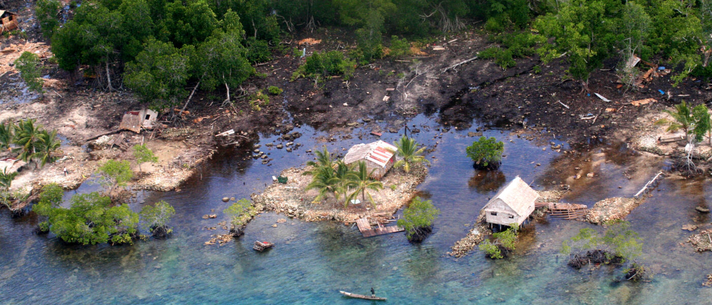 solomon islands post tsunami