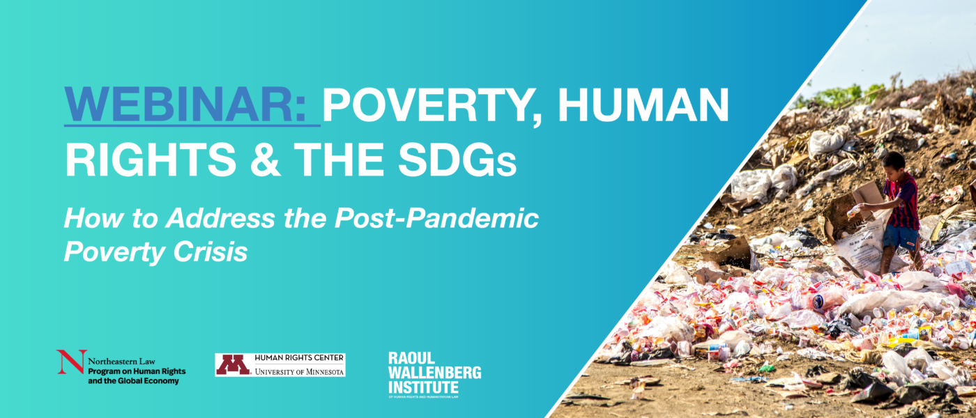Poverty, human rights and the SDGs event