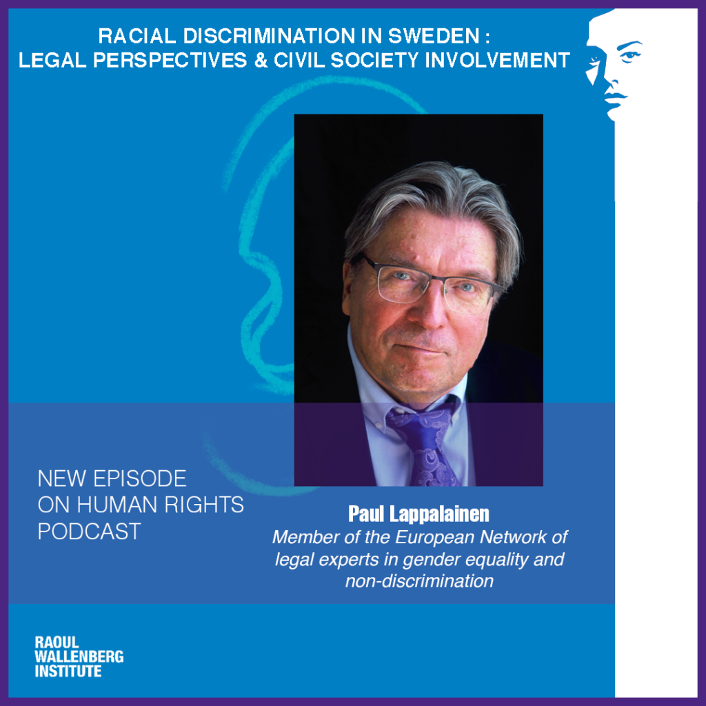 Paul Lappalainen - racial discrimination law perspectives and civil society involvement