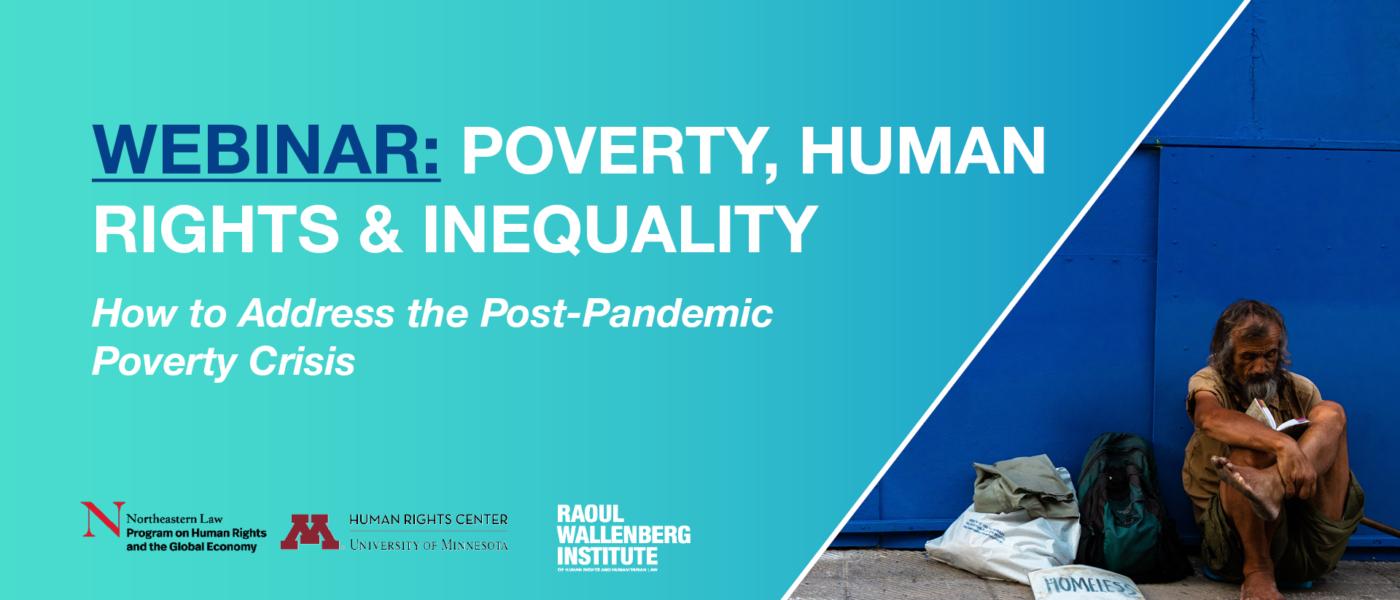 Webinar inequalities and poverty