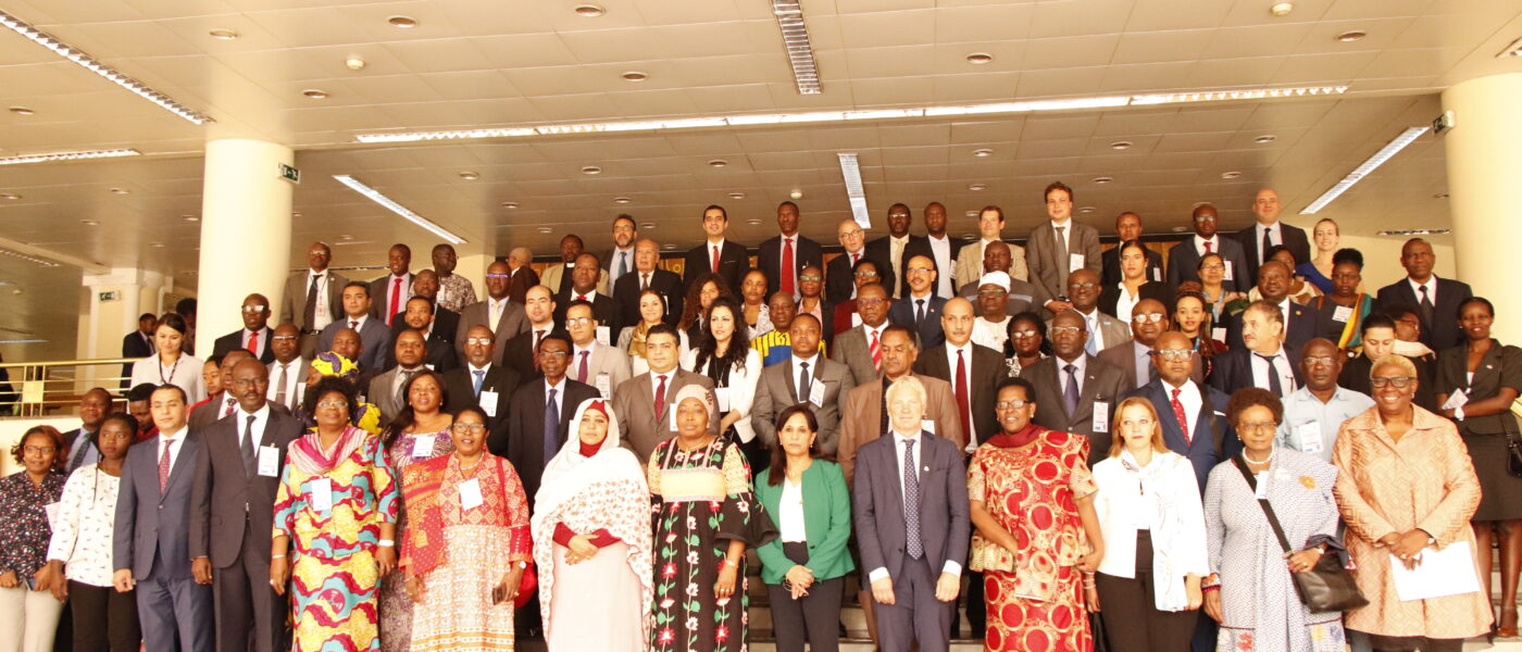 3rd Annual AUC-NANHRI Policy Forum on the State of African NHRIs. The theme was NHRI's contribution to durable solutions on forced displacements in Africa