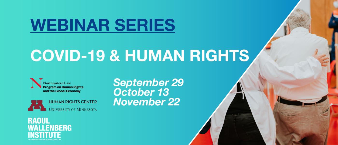 webinar series covid and human rights